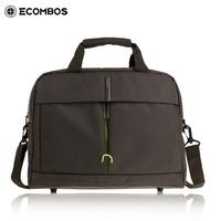 Man bag large capacity one shoulder cross-body handbag male laptop bag briefcase