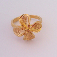 Min order $10, (mix order) .  Luck to spend 18K  Yellow Gold Plated Women  Ring.Free Shipping.Provide  tracking number