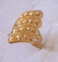 Min order $10, (mix order) . R016. Wedding Ring. 18K  Yellow Gold Plated  Women  Ring.Free Shipping.Provide  tracking number