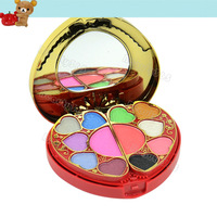 New Heart shape Cosmetics Make Up Kit/Sets Power Cake & Eye Shadow & Lip Gloss & Rouge 11810