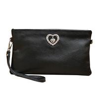 Women's handbag 2013 genuine leather evening bag day clutch small messenger bag