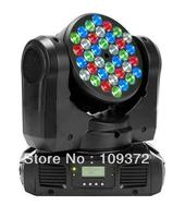 3W 36 RGBW Led Beam Professional Disco Lighting Moving Head