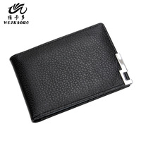 Driving license genuine leather card holders license clip male card holder cowhide credential place driver's license