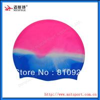 Custom promotion silicon swim cap