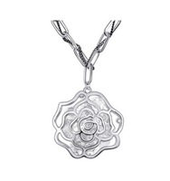 Free Shipping 2013 New Arrived Fashion Hot Sale Vintage Rose Flower Long Sweater Chain Brand Jewelry Christmas Gift For Women