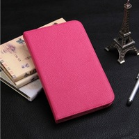 High Quality Luxury Flip Holder Pen Stand Full Leather Cases Sleep Cover For Samsung Galaxy Tab 3 7.0 T210 T211 P3200 P3210 Bags