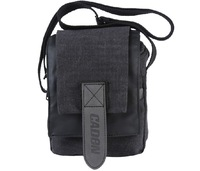 SLR one-shoulder bag Canvas Black  free shipping Digital camera backpack
