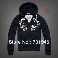 Free shipping male Moleton Jacket  new fashionable man zipper cardigan hooded coat hoodie,Men's cotton hoodie