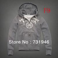 Free shipping male Moleton Jacket  man zipper cardigan hooded coat hoodie,Men's   cotton hoodie grey
