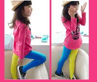 Free Shipping New Arrivals Girl Fashion Velvet Pantyhose,Girls' Leggings,Children TightsGirl Pant,,AB Style,6 Colors for Choosen