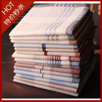 Male handkerchief 100% cotton handkerchief squareinto handkerchief 10