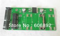 "Free Shipping 50mm mSATA mini SATA SSD to 2.5"" 7+15Pin SATA Converter Adapter mSATA-SATA Card"