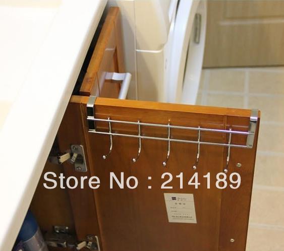 5 even after the door hook, stainless steel cloth hook, towel hook coat hanger(China (Mainland))