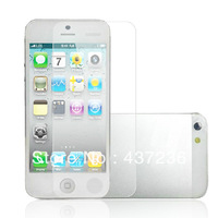 Free shipping 10PCS Wholesaler Clear Front LCD Screen Protector Skin Cover Shield For iPhone 5G E4044