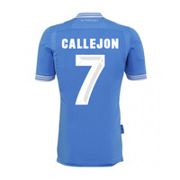 New 13/14 Napoli HOME #7 CALLEJON Jerseys LIGHT BLUE Football kit Soccer Unforms 2013-2014 Cheap Soccer Jersey free shipping