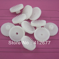 Hot sale c28082b crown gear model rack plastic gear DiY toy model gear parts free shipping