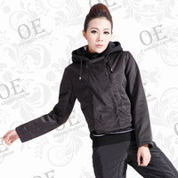 Oe-8010 fashion autumn and winter the trend of women outerwear e thickening 2012 clothing