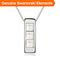 Top quality! Crystal pendant necklace made with Swarovski Elements