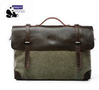 Free shopping Hot selling new 2014 men messenger bags High-grade canvas bags for men cross body bag Retro business briefcase