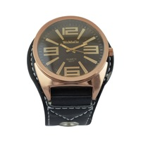 New Fashion Leather Wrist Watch Quartz WTH0233