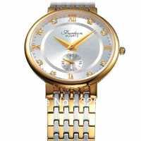 Genuine famous watches  Ultra-thin quartz watch Fashion waterproof watch