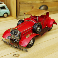 Pure tin retro British style classic cars Ceiling car  Bar Decoration Cafe decoration