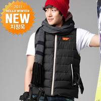 Googims cartoon lovers fly wings design zipper with a hood down vest 902v bk