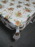 Echinacea 150x220cm X'mas  ,Christmas cloth table.table cover,table mat,waterproof table fabric Polyester Terylene cloth