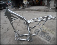 Off-road motorcycle off-road cqr250 reinforced type frame big rack