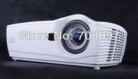 Perfect Clear image for daytime use! HD short throw fish-eye lens DLP 3D home theater projector  XGA resolution With HDMI Port