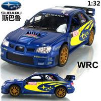 Kinsmart soft world SUBARU wrc car model alloy WARRIOR car toy