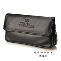 40.77% genuine leather sheepskin tobacco handmade smoking pipe bag tobacco bag kinsite nanmu smoking pipe