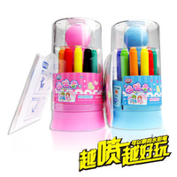 Zhigao 12 airbrush watercolor multicolour cartoon painting paint brush 24kk-526