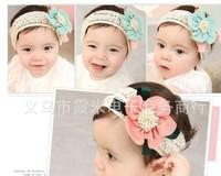 Fashion Design Baby Girls Kids Infants Children Newborn Big Flower Headband Headwear Hair Accessories  A+
