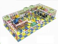 Tincool Amusement Happy Candy Themed Indoor Playground Equipment Amusement Park