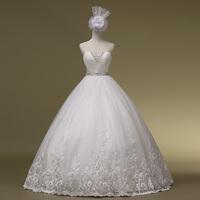 2013 romantic heart tube top bandage the bride wedding dress Wedding Gown