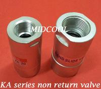 "Non return valve KA-08 Port 1/4"" one way valve,KA series pneumatic check valve"