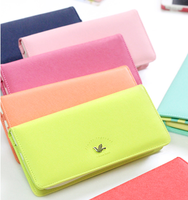Shinzi candy color trend merci women's multi card holder long design wallet 7