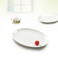 Porcelain plate round white porcelain melamine tableware chinese style podjarka mug-up fruit dish