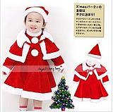2012 Christmas performance Christmas child wear child clothes christmas installation(China (Mainland))