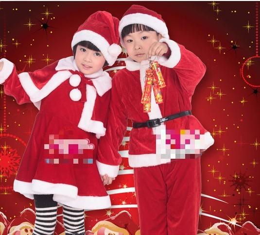 2013 Christmas costume performance wear child clothing(China (Mainland))