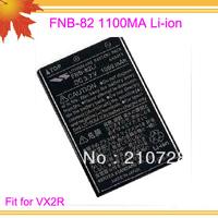 10pcs/lot freeshipping free FNB 82 for FM radio transceiver VX2R 1100mAh Li-ion Battery pack