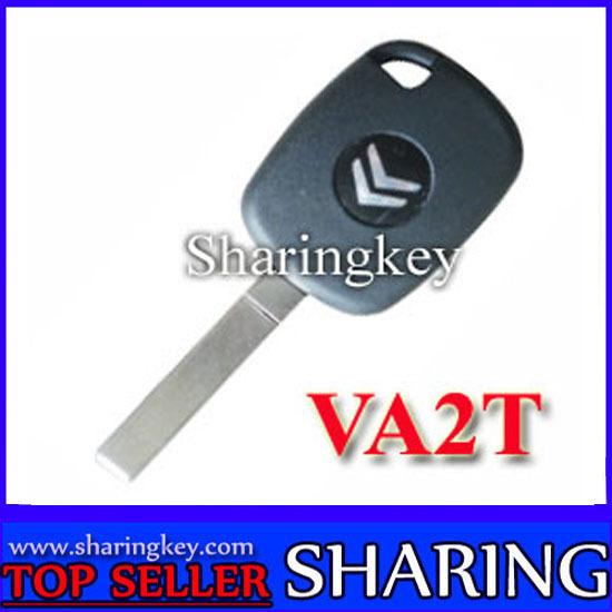 Citroen Electronic Key Blank With VAT2 Blade(China (Mainland))