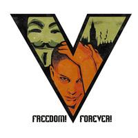 Myt . hk personality v for vendetta t-shirt short-sleeve  t-shirt printing,make your own t-shirt