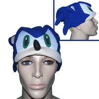 1(pcs)x New Sonic The Hedgehog Cap Hat Cosplay Toy Gift for Kids Children FREE SHIPPING to WORLDWIDE
