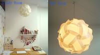 2014 hot sale good quality iq jigsaw puzzle lamp size L 5 sets white color(150 pieces)