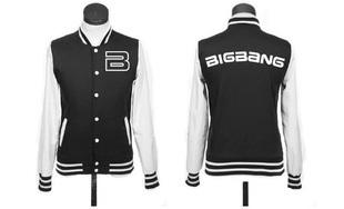 kpop coat bigbang concert tour baseball uniform JACKETS Женщины hoodie 5 Цветs