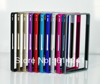 50pcs Fedex Free Factory Price 10Colors High Quality Aluminum Metal Bumper Case for Sony Xperia Z L36h