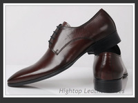Free shipping new 2013 HighTop men formal shoes oxfords men genuine leather business shoes men leather shoes size 38-45