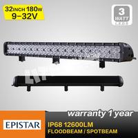 top quality 180w led light bars,combo beam, for off road use 4wd led bar lights atv utv track use seckill 120w/72w